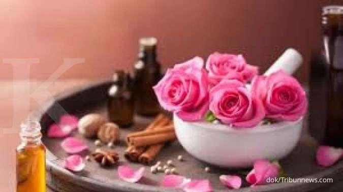 Selain indah, bunga mawar bermanfaat sebagai obat herbal untuk batuk kering