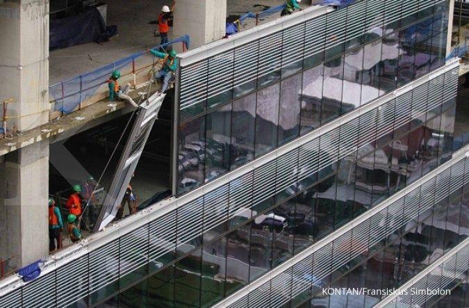 Okupansi gedung kantor luar Jakarta menurun