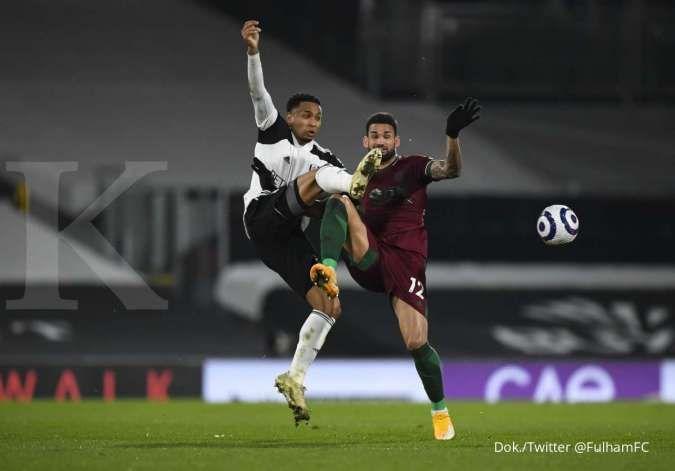 Hasil pertandingan Fulham vs Wolves di Liga Inggris berakhir dengan kemenangan Wolverhampton dari The Cottagers 0-1