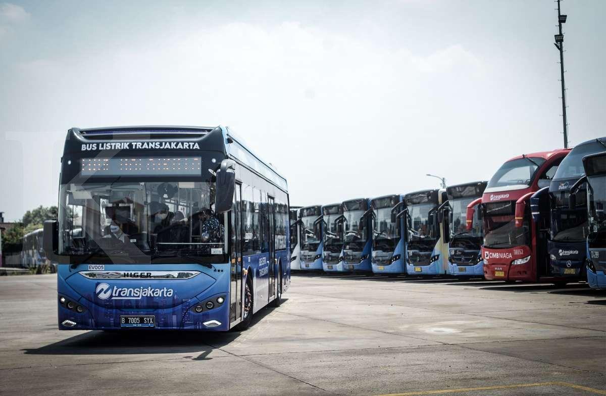 Bus listrik Transjakarta