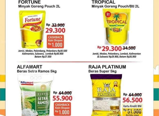 Promo Alfamart 27 September-3 Oktober 2021, potongan harga di promo gajian untung
