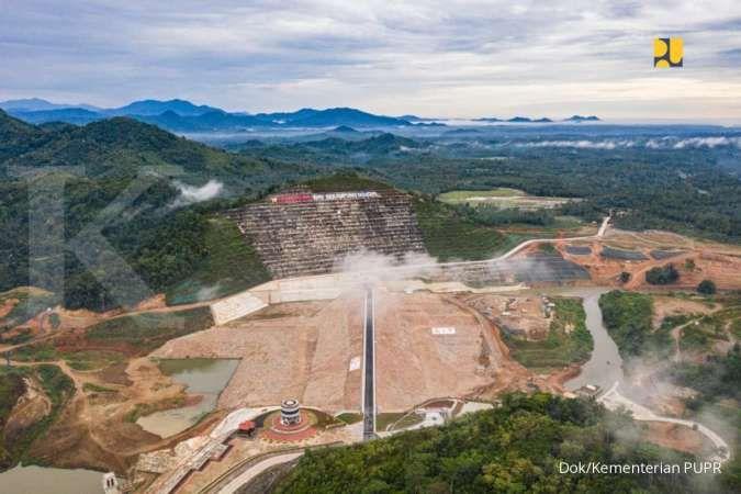 PUPR: Proyek Bendungan Margatiga di Provinsi Lampung telah capai 75,05%
