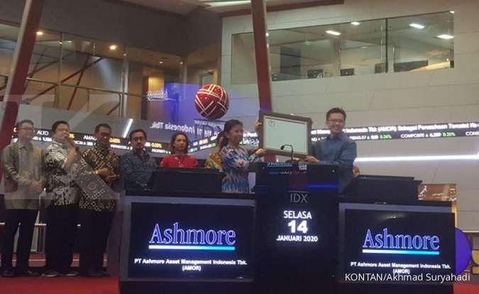Ashmore akan membagi total Rp 50 miliar dividen bagi pemegang saham