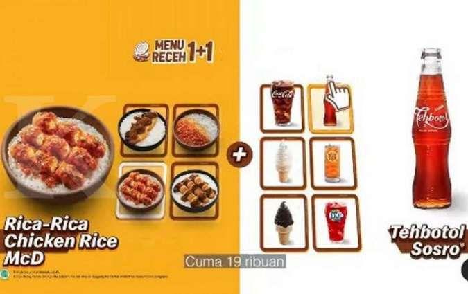Promo McD menu receh 1+1 hanya Rp 19.000-an berlaku Kamis 23 September 2021