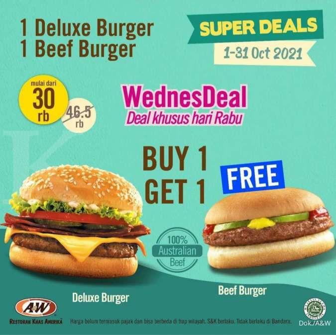 Promo A&W Burger