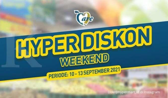 Promo Hypermart 13 September 2021, promo menarik dengan banyak potongan harga