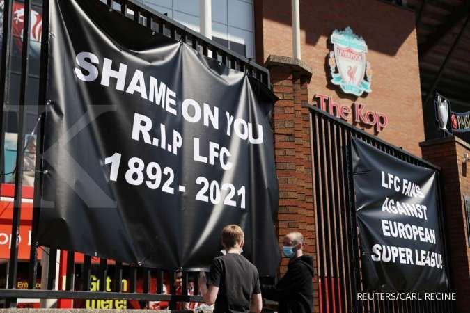 Pendukung Liverpool tolak European Super League