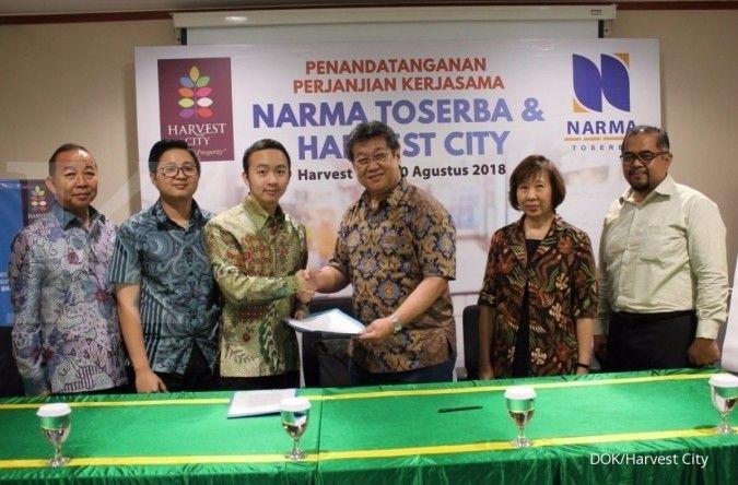 Narma Toserba akan buka gerai di kawasan komersial Harvest City