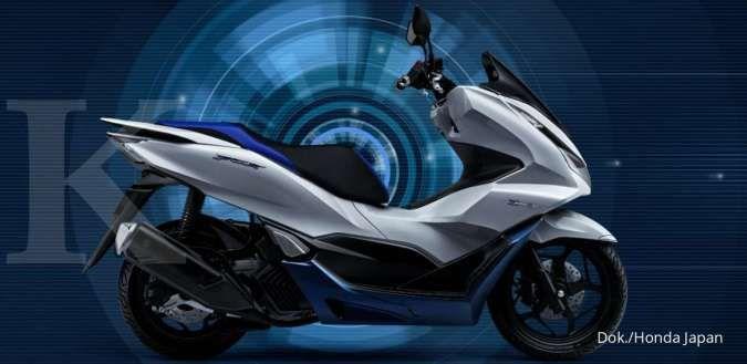 Paten diajukan, skuter listrik Honda PCX terbaru meluncur tahun depan