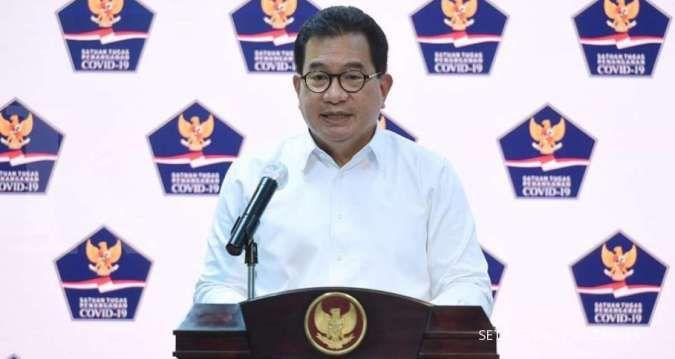 Juru Bicara Satuan Tugas Penanganan COVID-19 Wiku Adisasmito menyatakan klaster baru corona dari aksi demo akan nampak 2-4 minggu ke depan.