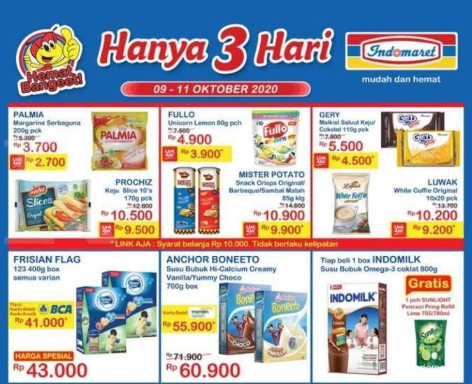 Katalog promo JSM Indomaret Hanya 3 Hari , 11 Oktober 2020!