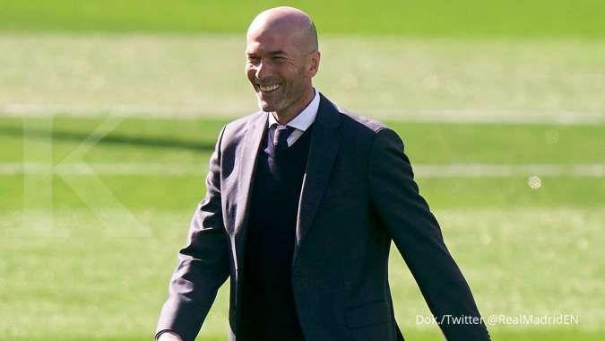 Zinedine Zidane bakal meninggalkan Real Madrid akhir musim ini
