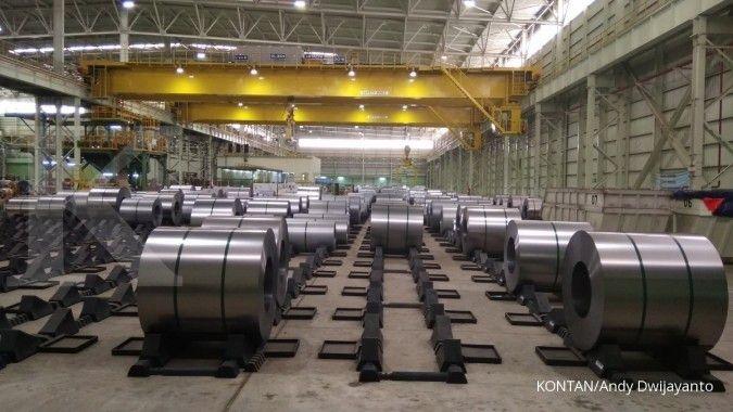 Proyek infrastruktur diyakini menjadi katalis positif bagi pasar baja