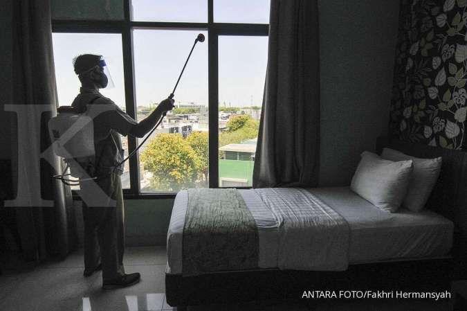 Ilustrasi. Inilah 4 hotel isolasi mandiri di Jakarta Pusat, tiga sudah mulai terisi ANTARA FOTO/ Fakhri Hermansyah/aww.