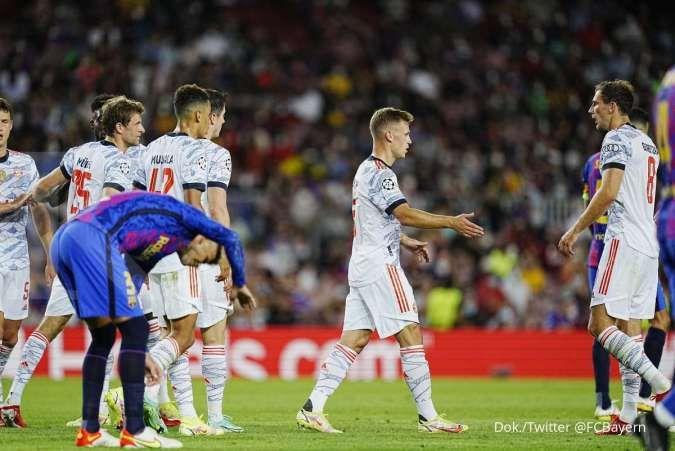 Hasil Liga Champions Barcelona vs Bayern Munchen