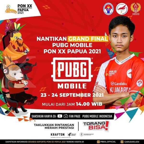 Grand Final PUBG Mobile PON XX Papua 2021