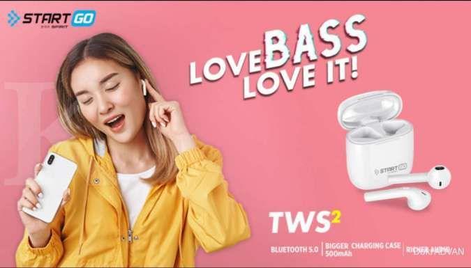 Advan riliis earphone Startgo TWS 2 dengan harga Rp 199.000