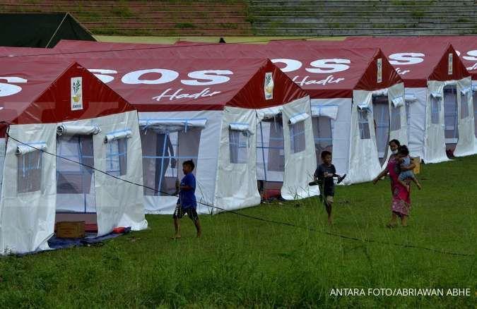 Kemensos pastikan kebutuhan kelompok rentan pengungsi Sulbar terlayani