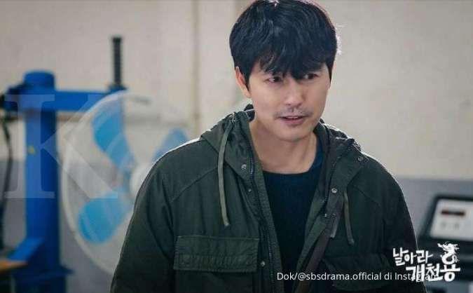 Jung Woo Sung di drama Korea Delayed Justice.