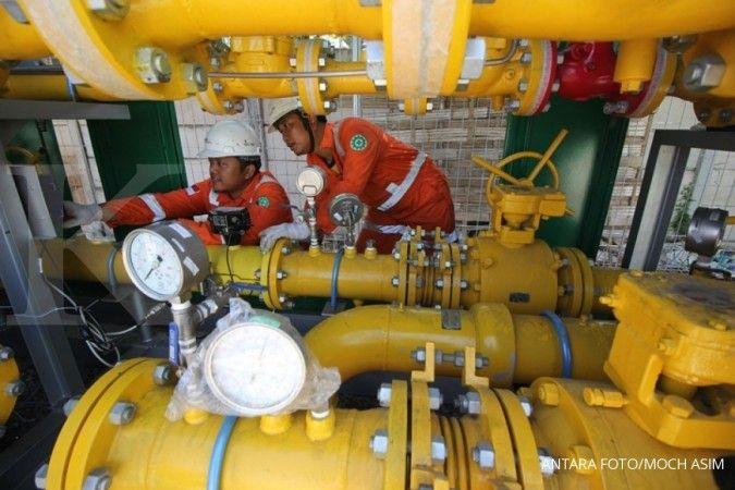 Penerimaan negara melorot, evaluasi kebijakan harga gas US$6 mmbtu mengemuka