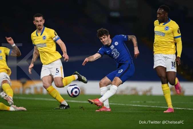 Hasil laga Chelsea vs Brighton di Liga Inggris