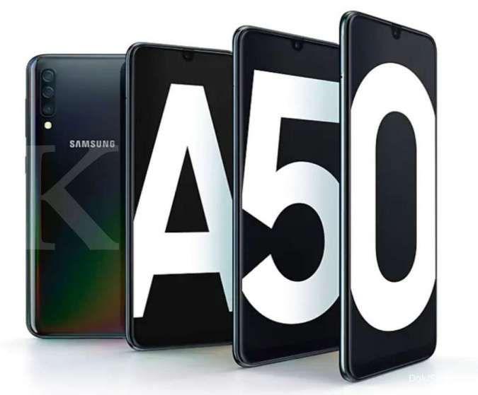 Daftar harga HP Samsung A50 terbaru, semua varian hanya Rp 3 jutaan