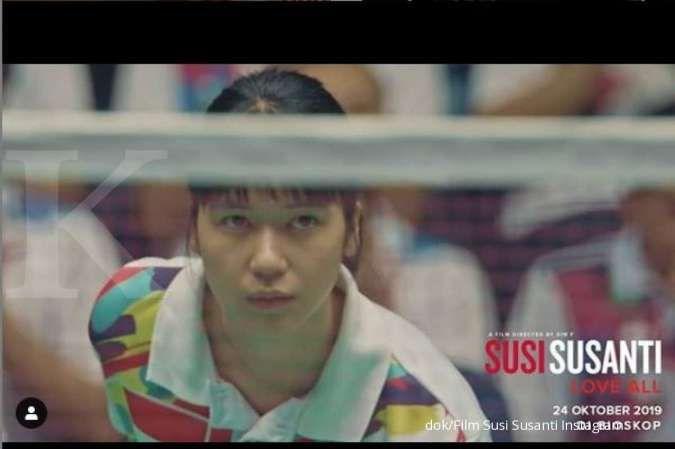 Mau nonton film Susi Susanti - Love All? Tiket pre sale-nya sudah tersedia lo