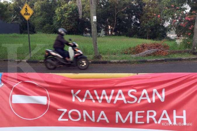 29 Agustus 2021, hanya satu daerah di Pulau Jawa berstatus zona merah corona, dimana?