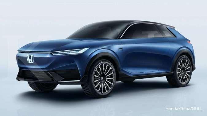 Bakal segera diproduksi, begini tampang konsep mobil listrik SUV Honda e:concept