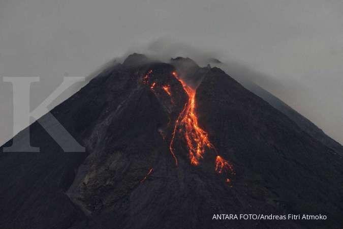 Gunung Merapi kembali lucurkan awan panas guguran 7 kali pada pagi ini (27/3)
