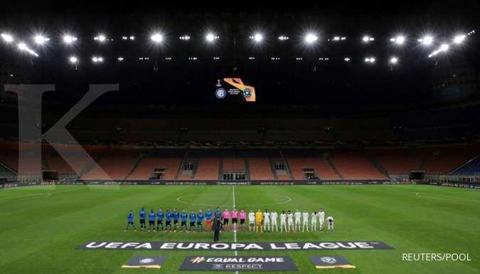 Stadion San Siro pada bulan Februari lalu. (Prediksi AC Milan vs Sparta Praha)