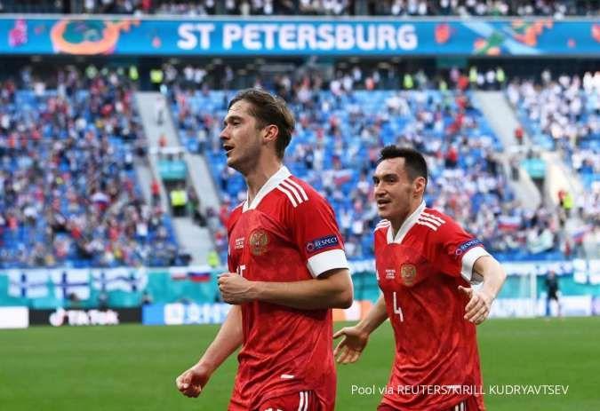 Hasil Euro 2020 Finlandia vs Rusia: Beruang Merah menang tipis, jaga asa ke 16 besar
