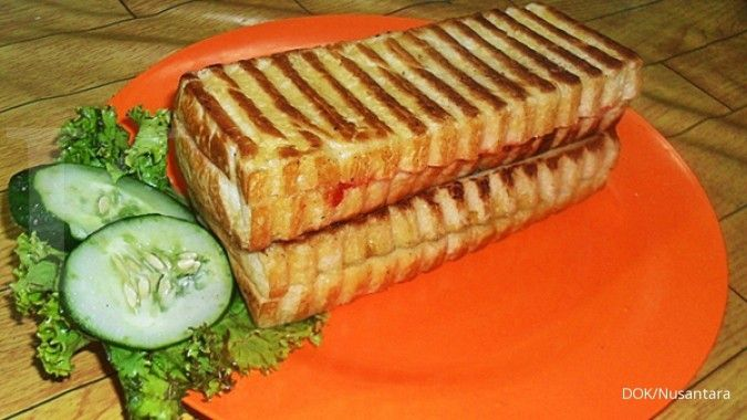 Bisnis roti bakar mulai mendingin