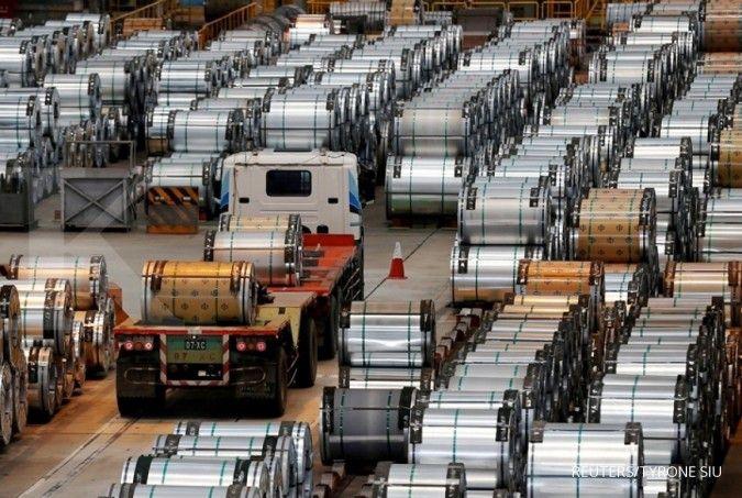 Importasi baja masih membanjiri pasar dalam negeri