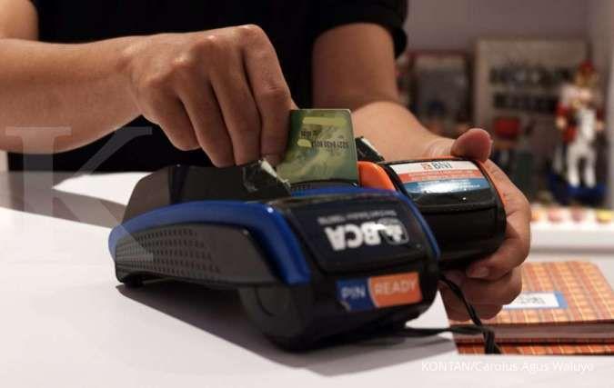 Transaksi mesin EDC di sejumlah bank kian ramai