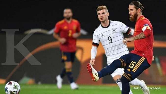 Spanyol vs Jerman: Deretan pemain bintang ini bakal saling bentrok di tiap posnya