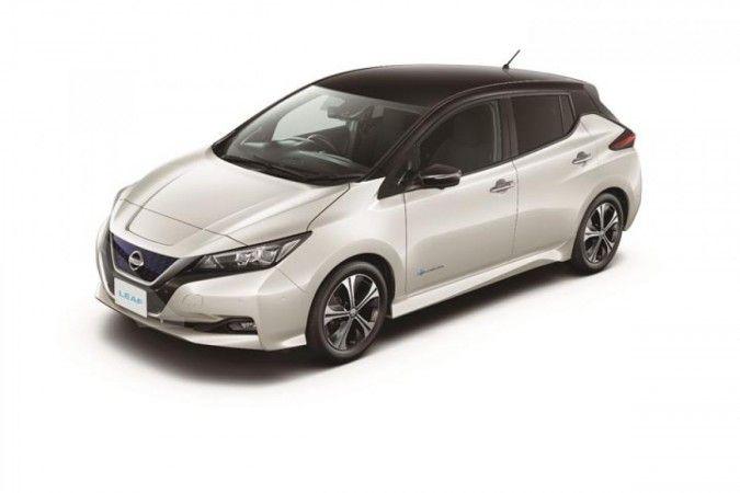 Nissan dan Mitsubishi rencanakan rilis mobil listrik murah (Nissan LEAF)