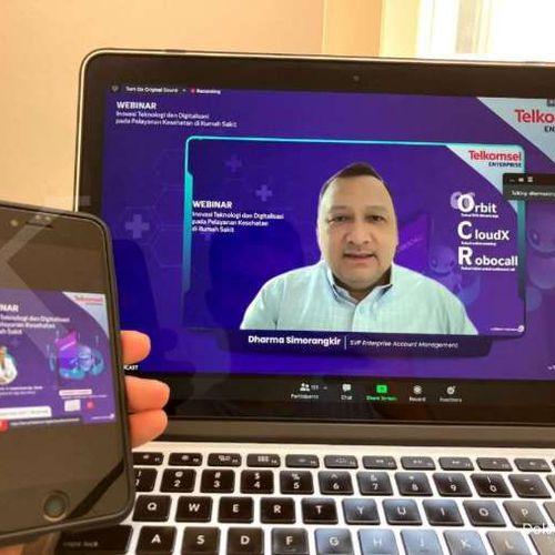 Telkomsel Hadirkan Aplikasi Robocall, Permudah Layanan Online Rumah Sakit
