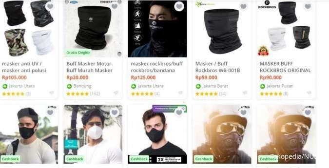 Mengenal masker buff dan scuba dan alasan dilarang di KRL
