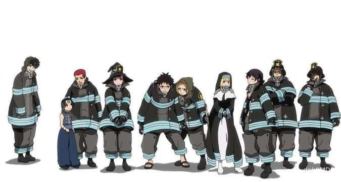 Mau nonton anime Fire Force gratis? Kunjungi situs berikut ini
