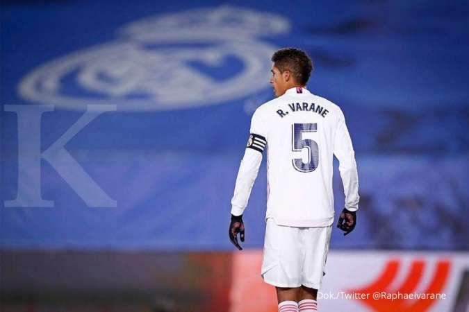 Manchester United jadi yang terdepan boyong Raphael Varane dari Real Madrid
