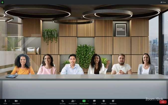 Menarik! Fitur Immersive View di Zoom meeting bikin virtual meeting makin seru