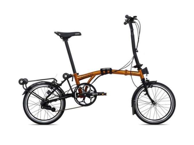 Generasi baru, intip harga sepeda lipat Pacific Pithon M320 VR yang tampil keren