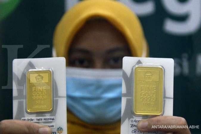 Harga emas hari ini di Pegadaian, Jumat 23 Oktober 2020