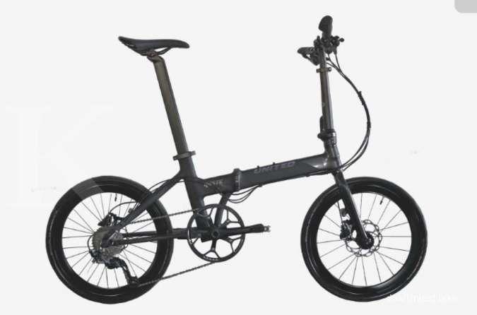 Handal dan ramping, harga sepeda lipat United Haste Q tak terlalu mahal