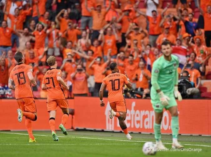 Makedonia Utara vs Belanda di Euro 2020: Der Oranje bidik kemenangan sempurna