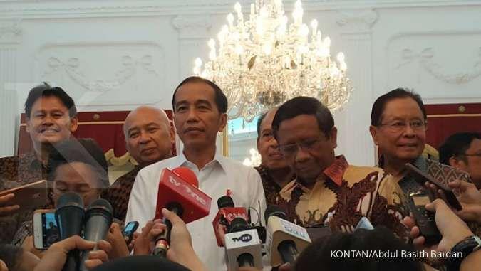 Jokowi diam ditanya Perppu KPK, Bamsoet dan Basarah minta tanya soal pelantikan