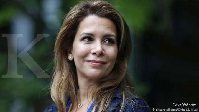 Tidak Tahan Hidup di Istana, Istri Penguasa Dubai Diberitakan Lari ke Inggris