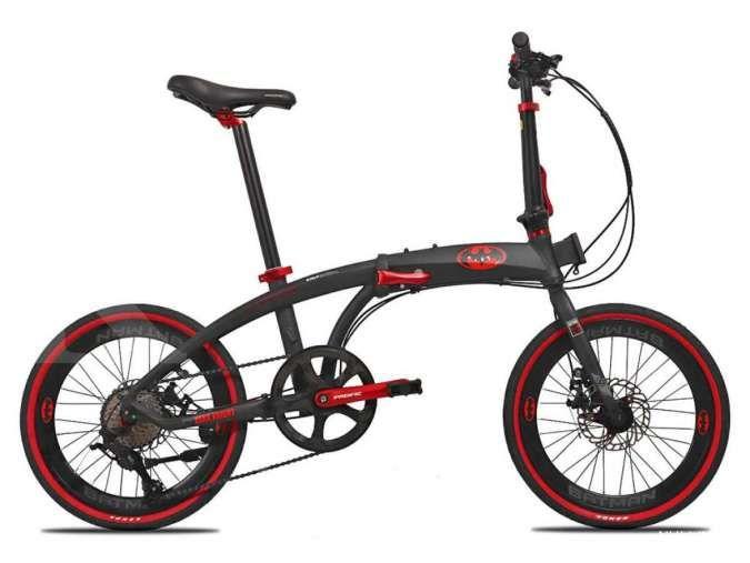 Anda penggemar Batman? Harga sepeda lipat Pacific Noris Batman dibanderol terjangkau