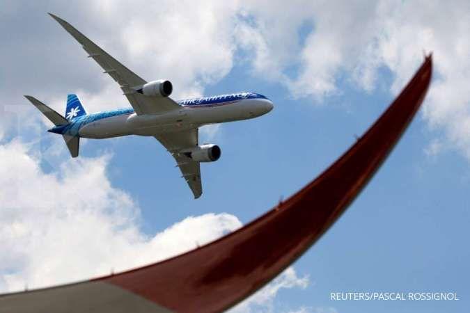 Boeing 787-9 Dreamliner. REUTERS/Pascal Rossignol